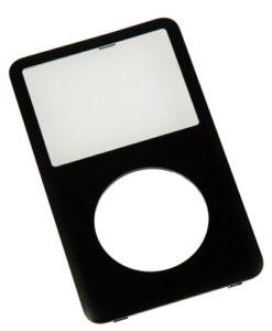 ipod classic faceplate black