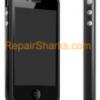 iPhone 4 Rubber Bumper Case Black