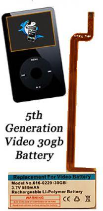 iPod Video Battery 30gb