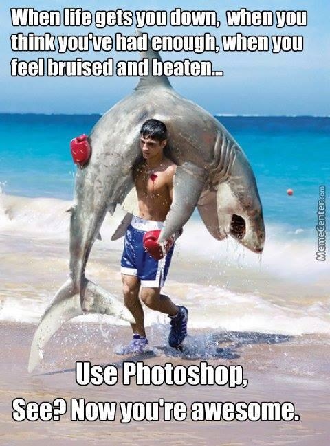 Even Sharks need Saving