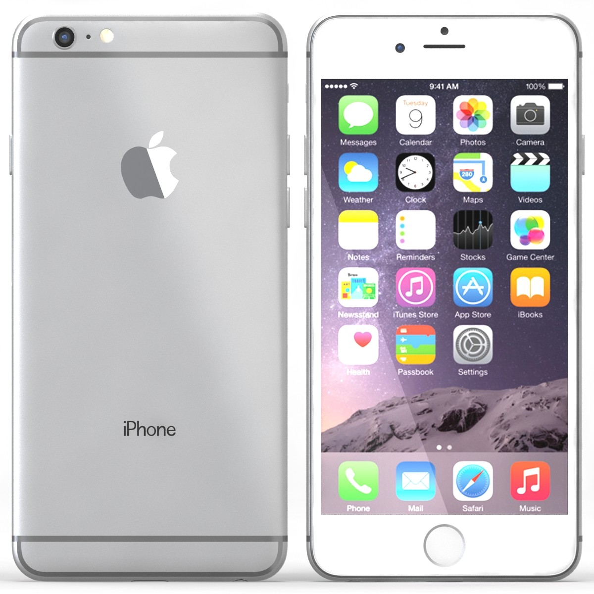 iphone 6 white front. iphone 6 plus repair iphone white front