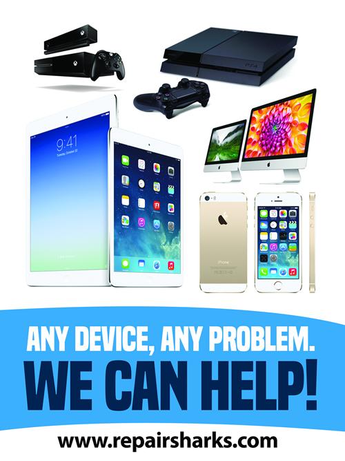 Roslyn iPhone Repair, iPad, iPod, Android, Mac, Xbox, Playstation 2