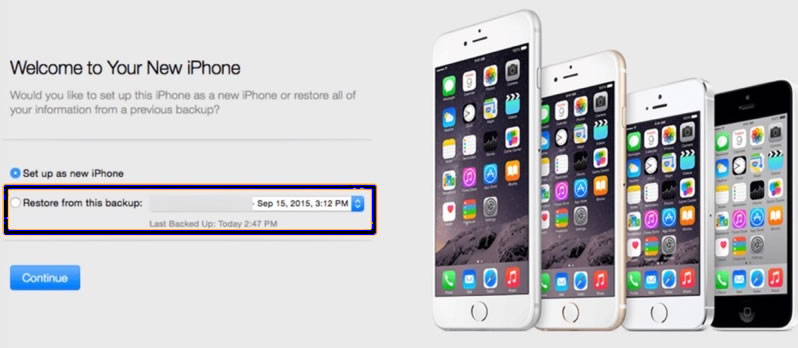 How to Transfer Data to your New iPhone with iTunes