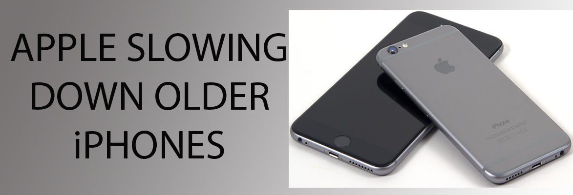 Planned Obsolescence - Apple is Slowing Down Older iPhones